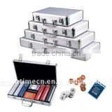 200pc x 11.5g poker chips set w/aluminium case