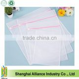 Set of 4 Zipped Laundry Bags Clean Washing Bag Net Mesh Socks Bra Clothes Storage Bag(TM-LB-021)