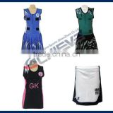 Sublimation custom free sizes netball uniform