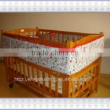100% cotton baby bed bumper
