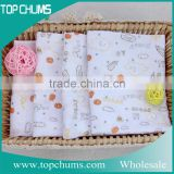 Popular series cute print baby bath muslin blanket warp