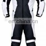 Motorcycle Racing Suit/ Men Leather Biker Suit