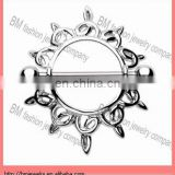 Nipple ring shild body piercing jewelry