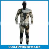 Reef Vertigo Stealth 3D Printing Style Open Cell Wetsuit Spearfishing Suits With Hooded