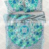 Indian Mandala Duvet Cover Ethnic Decor Quilt Cover Doona Cover Blanket With Pillow Cover Art