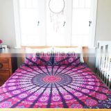 Indian Mandala Quilt Cover Cotton Doona Cover Comferter Queen Quilt Cover
