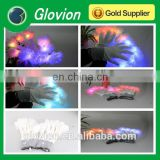 LED Flashing multicolour finger tips gloves led party gloves snowflake flashlight gloves