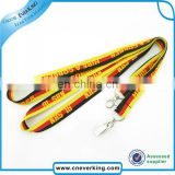 Custom smooth printed lanyard for teenagers