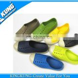 Green anti-slip cheap eva man garden shoe