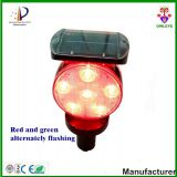 LED synchronous flashing waterproof LED Solar traffic light IP66 with radio signal receiver