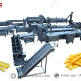 Commercial Industrial Continuous Frying Machine For French Fries Hot Sale