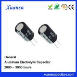 Power parts electrolytic capacitor 100UF16V manufacturer
