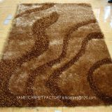 best selling 5D polyester shaggy carpet for sitting room and bedroom