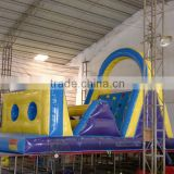 Mini size inflatable kids obstacle course indoor inflatable sport structure play jump mat