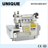 EXT5214DD-EUT high speed direct drive top and bottom feed 4 thread pegasus overlock sewing machine with auto trimmer