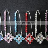 B095 muslim scarf safety pins/nickeled safety-pins/silver safety-pins