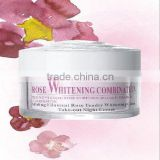 rose nourishing natural skin whitening cream