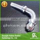 High quality BSP/BSPT JIC/ORFS NPT Male carbon steel elbow 90 degree pipe fitting hydraulic hose fitting