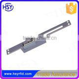 HSY-E200 Holding 800kg Painted Steel NO or NC Long-type Electric Strike for Wooden Door Metal Door PVC Door