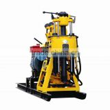 Power of Diesel Engine! Max 200m Depth! HF200 portable hydraulic drilling machine