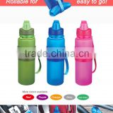 650ml BPA free hot water bottle silicone travel bottle                                                                                         Most Popular                                                     Supplier's Choice