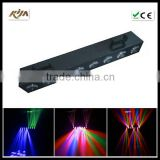 christmas Promotion!!!RGBW 4in1 spider beam bar 8*10w sweeper beam led for night club stage light