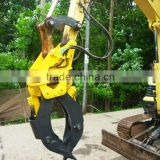Excavator spare parts rotating stone Grapple for HITACHI machinery