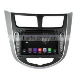 DVD gps navigation system car dvd player for Hyundai Verna/Accent/Solaris 2011-2012