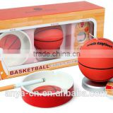 D552 Basketball Gift Set with Bottle Opener, Toothpick holder and Ashtray