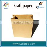 Kraft Grocery Bag for food packaging