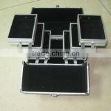 double open aluminium cosmetic/beauty case