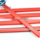 2013 hotsale 7'' octagonals shape red carpenter pencil with logo available
