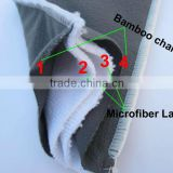 Make to order Bamboo Charcoal Inserts for baby cloth diaper Machine Washable Urine mat