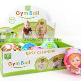 Promotional inflatable ball easy cleaning(6inl), gym ball toys for Wholesale, sport toys for children, EB033853