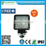 Hella Style 30W led work light , 12v led work light ,Cree led work light for farming agricutlural vehicles QS-SWL30-C