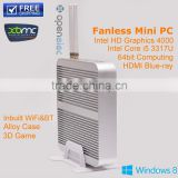 Network PC Station using Core i5 Max 2.6GHz CPU, 2G DDR3,160G HDD, wireless Mini Thin Client Buildin Windows 7 software