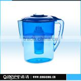 Wholesales Eco-friendly Plastic Active Carbon Brita jug& Brita Filter Pitcher,Model:QQF-01,Capacity:2.5L,Color:selectable