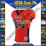 American Football Jersey Number Tackle Twill Embroidery