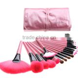 1Set 24PCS Professional Makeup Brush Sets Tools Cosmetic Brush Powder Foundation Lip Brush Tools