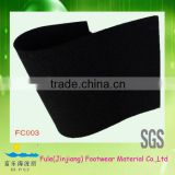 black rubber material for carpet underlayment