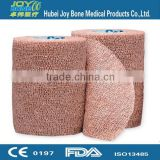 Collection of latex free colored cohesive elastic non-woven bandage/self-adhesive bandage with cartificates
