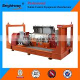 High efficiency and Large Capacity Drilling Fluids Horizontal Spiral Decanter Centrifuge