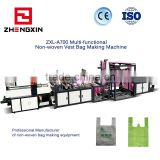 Inquiry about ZXL-A700 Non woven Vest Bag Making Machine Shopping Bag Making Machine