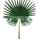 artificial big fan palm leaf, artificial plam leaf