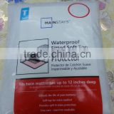Sales Wal-mart Stocklot Waterproof bed Mattress Cover                                                                         Quality Choice