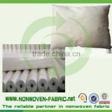 alibaba supplier hotel linen pillow cover nonwoven fabric material