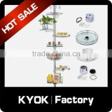 KYOK Pole System Round Goblet Rack , stainless steel kitchen drawer basket ,kitchen basket