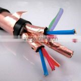 PVC insulated PVC sheath Cu conductor multi core control power cable Copper tape screened fire proof low halogen