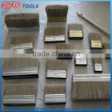 Different sizes metal ferrule pure bristles paint brush head                                                                         Quality Choice