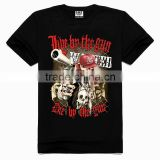 OEM 3d Printing Factory High quality old skull t-shirt, high end quality t-shirt, high end fashion t-shirt